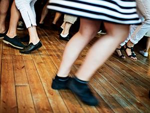 Dansskor eller finskor