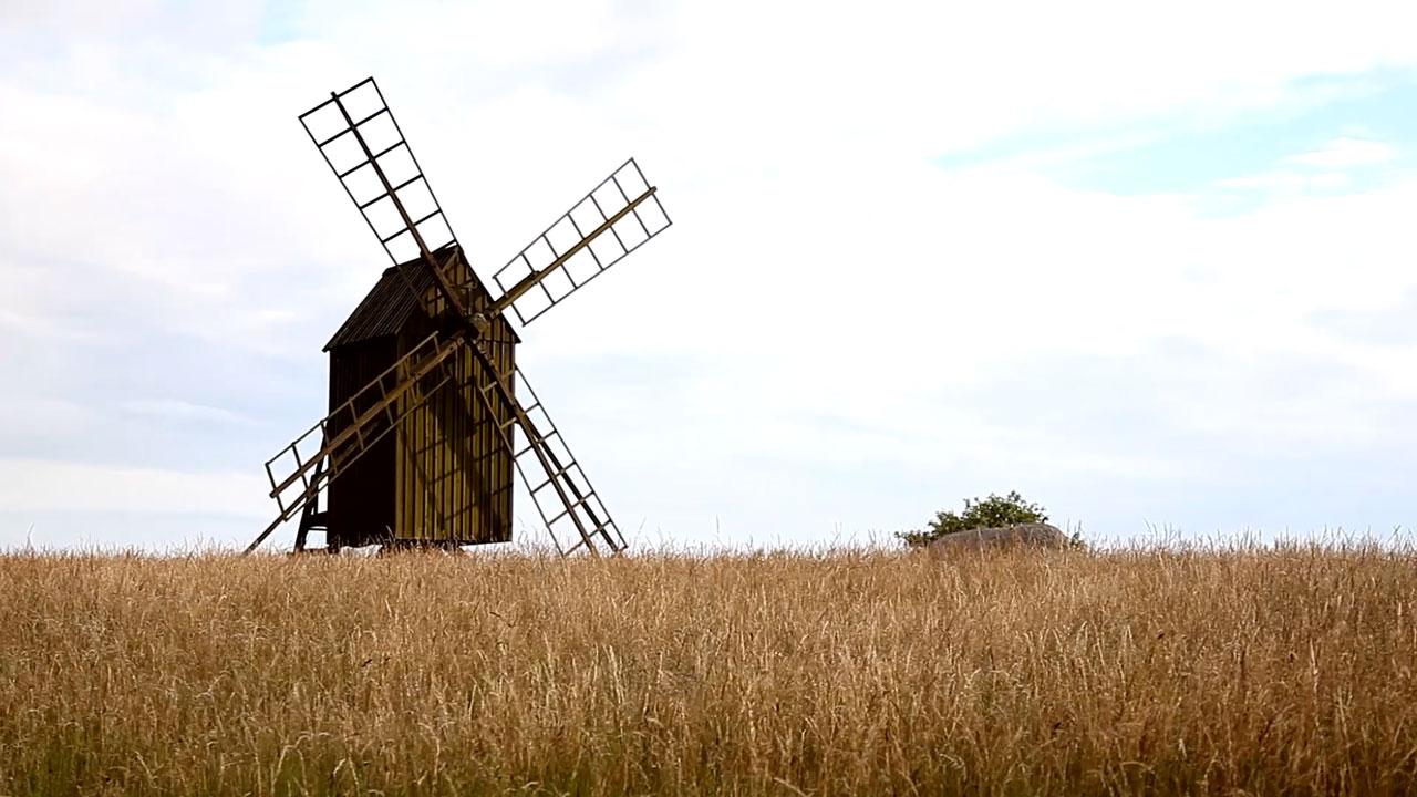 Väderkvarn på Öland
