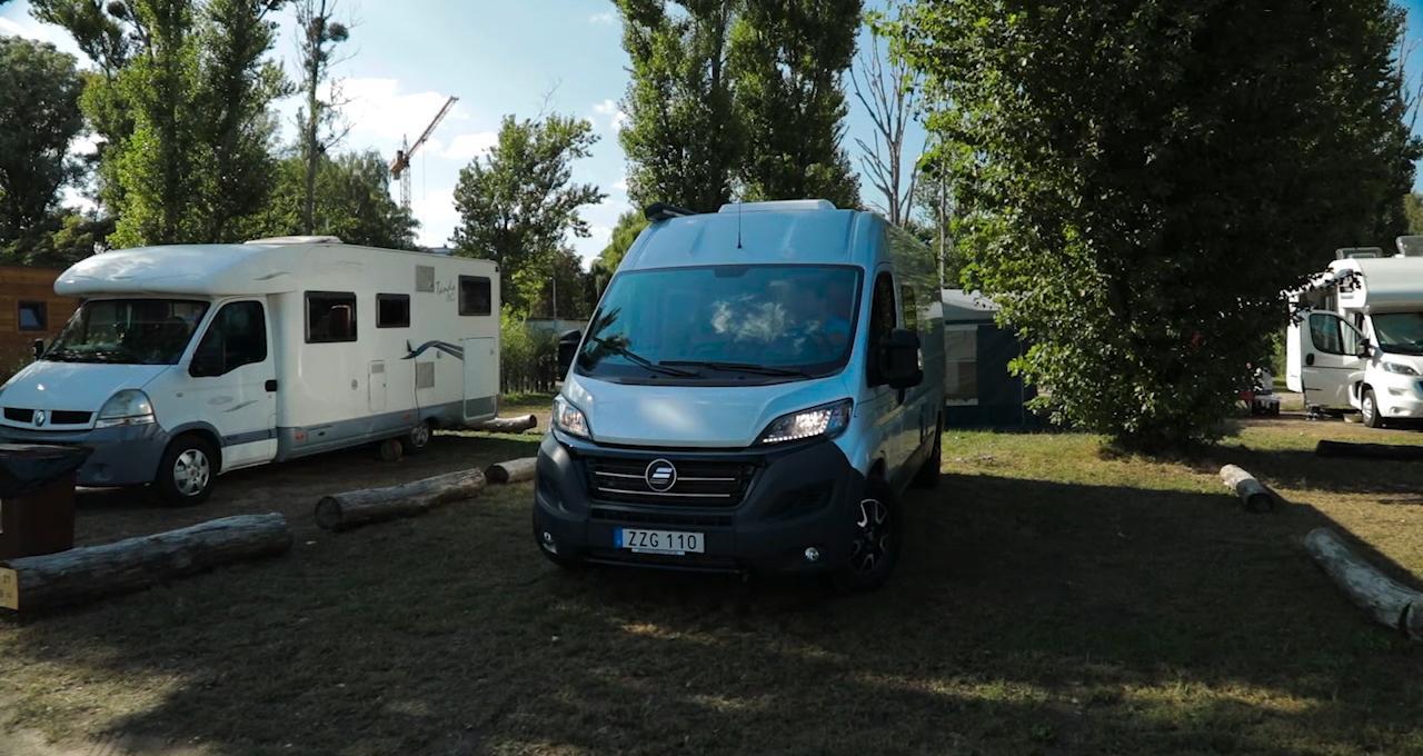 Campingboende Polen