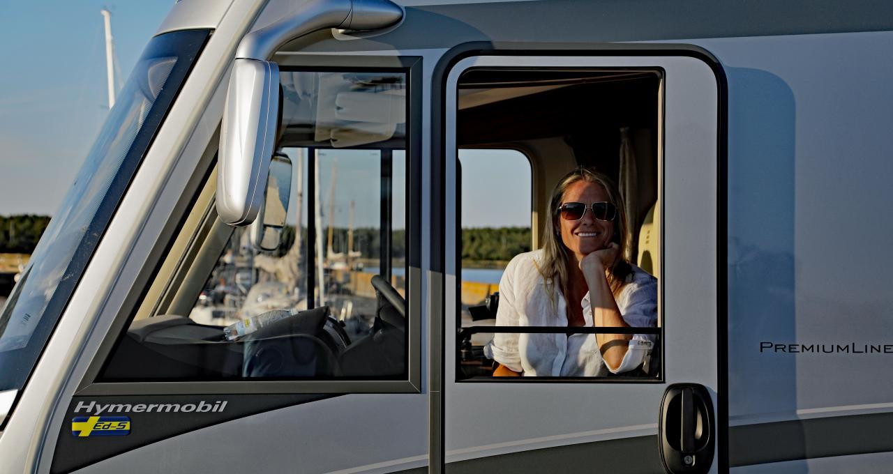 Bo på camping på Gotland