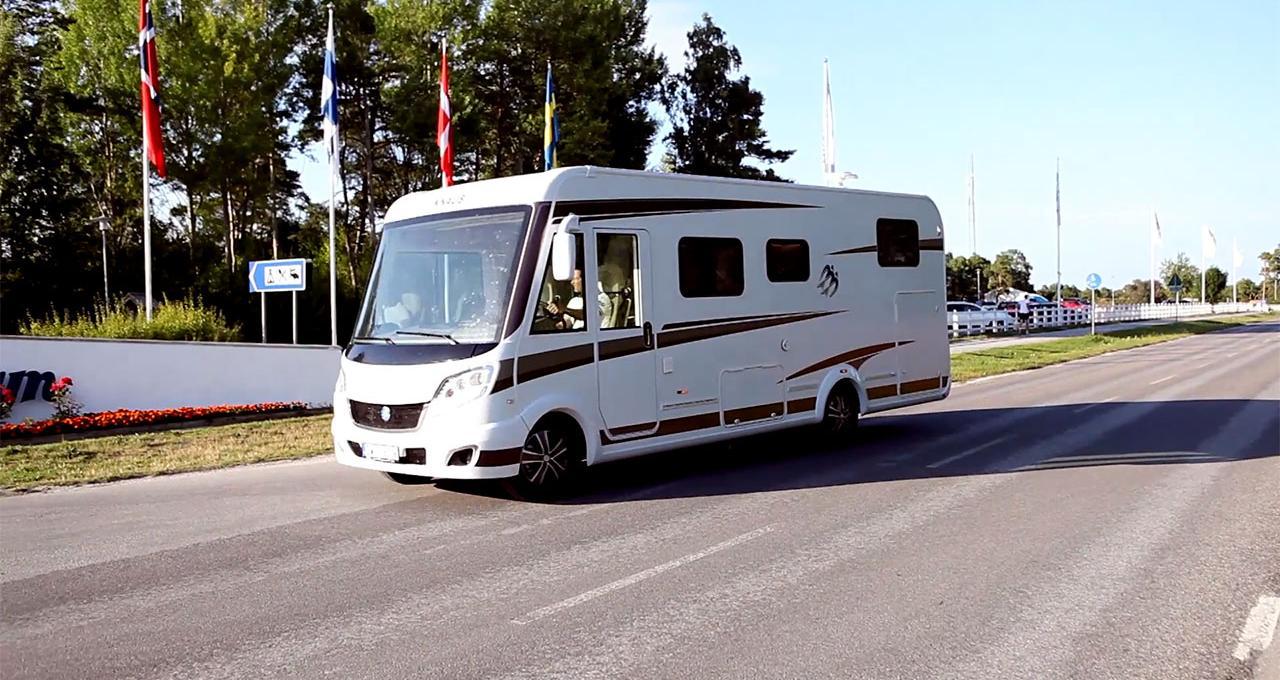 Boende Gotland, Kneippbyn resort, Gone camping