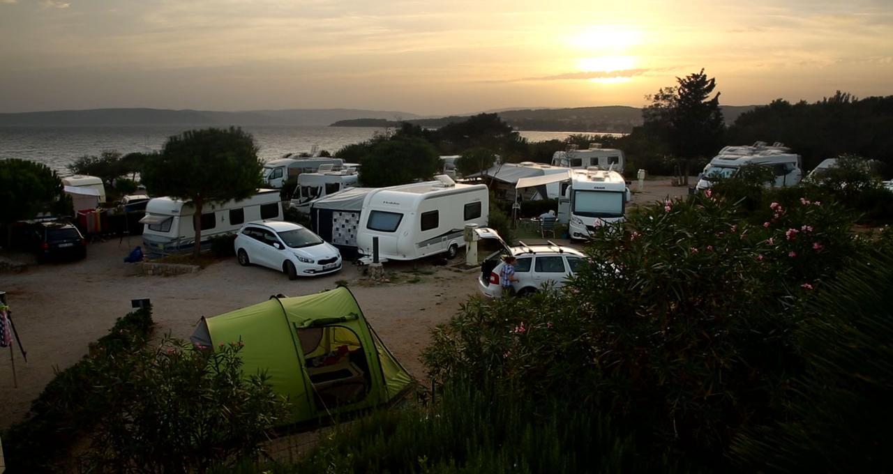 Camping Krk i Kroatien