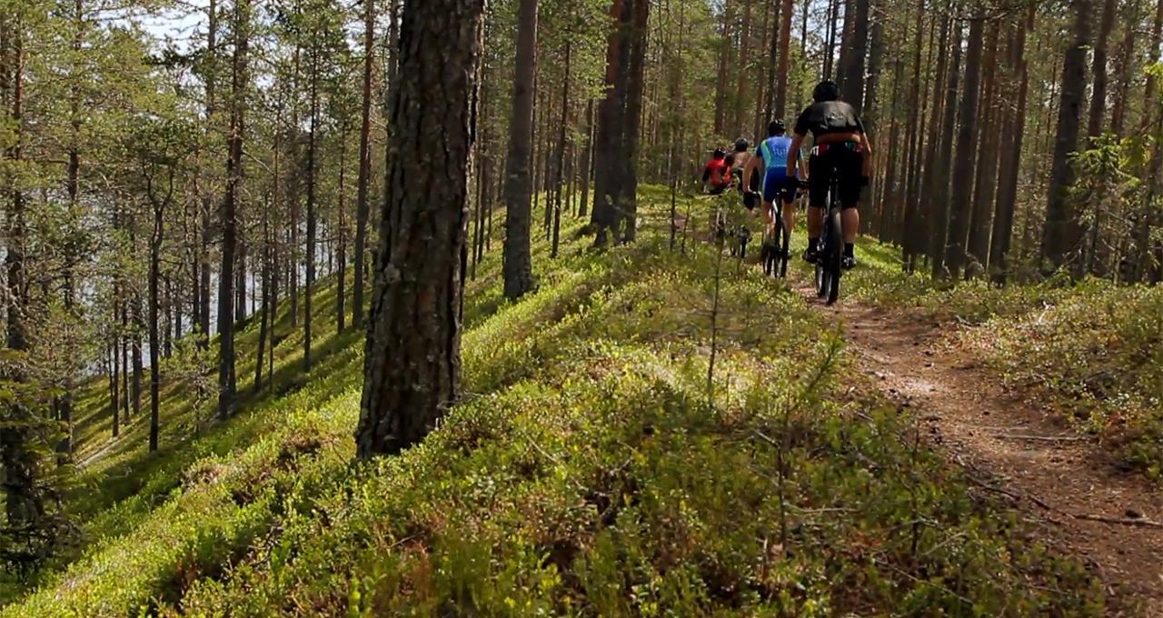 MTB Mountainbike i Rörbäcksnäs