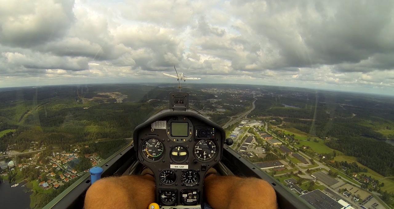 Segelflyg utsikt