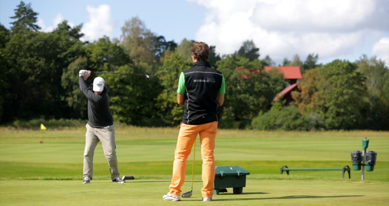 En runda golf