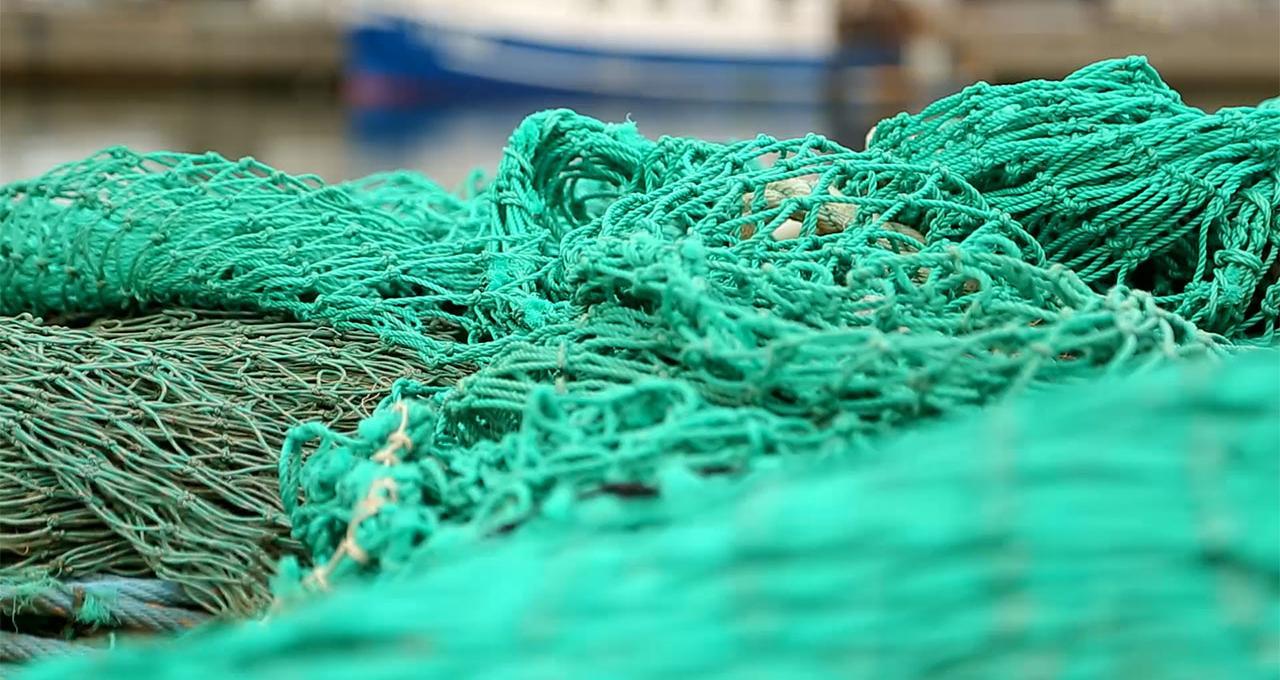 Fisknät i Skagen