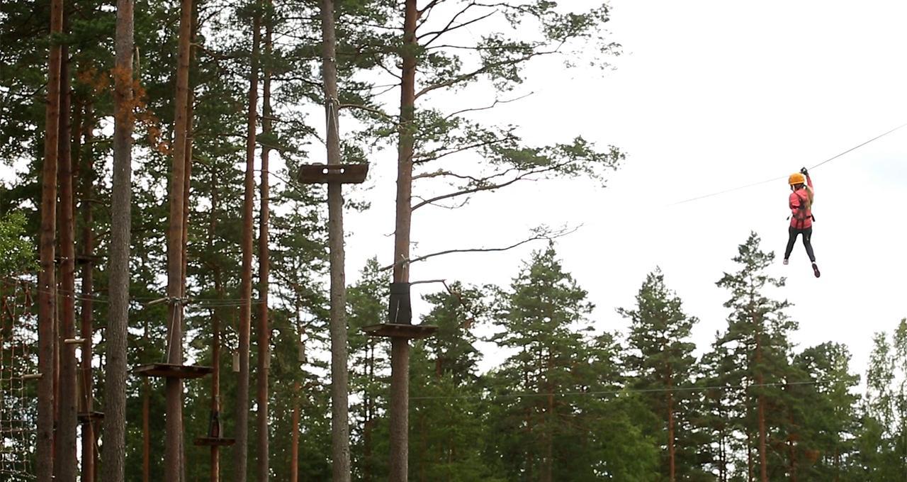 Zipline i Isaberg