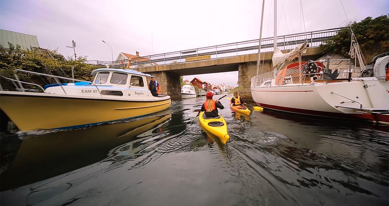 Havskajak i Gundsund