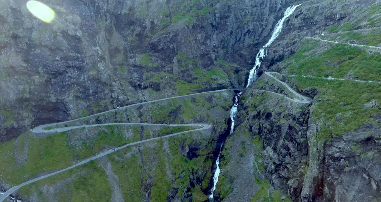 Trollstigen, Åndalsnes, Norge