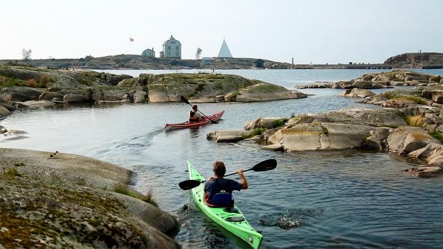 Åland avsnittsbild havskajak