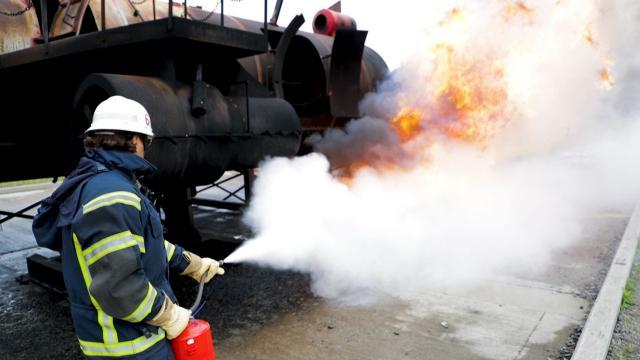 Eld och lågor i Sundsvall