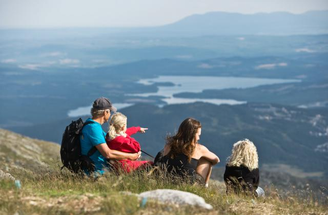 Utsikten från Åreskutan